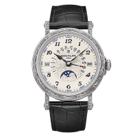 Patek Philippe Grand Complications 5160/500G-001 Perpetual Calendar Blanc Or Hommes