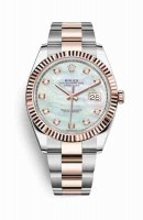 Replique Montre Rolex Datejust 41 Everose Roles 18 ct Everose 126331