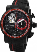 Graham Tourbillograph Trackmaster Noir and Red Homme 2TWCB.B08A.K60D