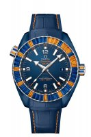 Réplique Montre OMEGA Seamaster Bleu ceramic 24 hours GMT 215.98.46.22.03.001