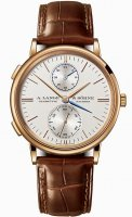 A.Lange & Sohne Saxonia Dual Time 386.032 Or rose