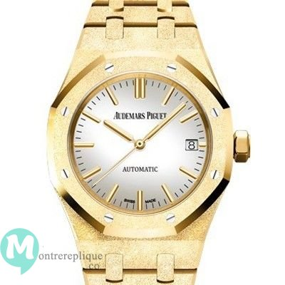 Copie de Audemars Piguet Royal Oak Frosted Gold a remontage automatique 15454BA.GG.1259BA.02