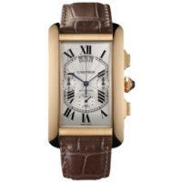 Cartier Tank Americaine XL Chronographe Or rose W2609356