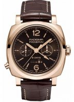 Panerai Luminor 1940 Chrono Monopulsante 8 days GMT Oro Rosso PAM00502