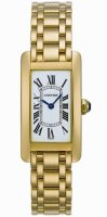 Cartier Tank Americaine Femme Replique Montre W26015K2