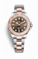 Replique Montre Rolex Yacht-Master 37 Everose Roles 18 ct Everose 268621