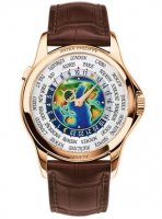 Patek Philippe World Time Enamel Dial Rose Or Full Set 5131R-001