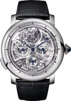 Rotonde de Cartier Grande Complication skeleton Replique Montre