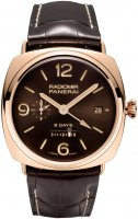 Panerai Radiomir 8 days GMT Oro Rosso Homme PAM00395