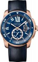 Calibre de Cartier plongeur blue Replique Montre WGCA0009