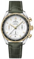 Omega Speedmaster 38mm Co-Axial Lunette verte 324.23.38.50.02.001