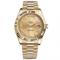 Rolex Day-Date II Champagne 18kt automatique en or jaune