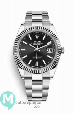 Replique Montre Rolex Datejust 41 blanc Roles 126334
