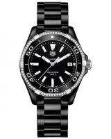 TAG Heuer Aquaracer Quartz Noir Ceramique Dames WAY1395.BH0716