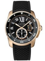 Calibre de Cartier Diver 42mm en or rose W7100052