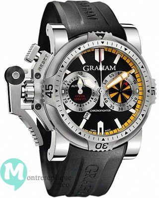 Graham Chronofighter Oversize Diver Turbo Homme 2OVES.B15A
