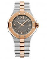 Copie de Chopard Alpine Eagle 41 mm en acier et cadran gris or rose