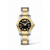 Longines Hydroconquest Quartz 29.5 Two Tone Noir L3.247.3.56.7