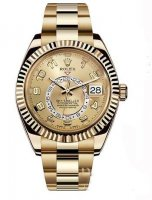 Rolex Oyster Perpetual Sky-Dweller 42mm or jaune 326938-72418