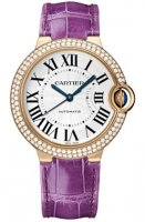 Ballon Bleu de Cartier 36mm en or rose & diamants WE900551