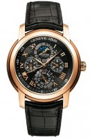 Audemars Piguet Jules Audemars 26003OR.OO.D002CR.01002 Automatique Cadran Noir Leather Homme