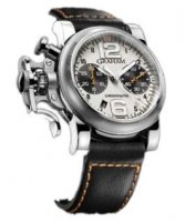 Graham Chronofighter R.A.C. Argent Fighter Homme 2CRBS.S01A.L80B
