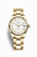 Réplique Montre Rolex Datejust 31 jaune 18 ct 278278