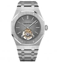 Audemars Piguet Royal Oak Tourbillon 26510PT.OO.1220PT.01 Extra-Thin Platine Smoked Gris Cadran