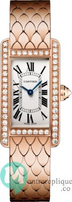 Cartier Tank Americaine Replique Montre WB710008