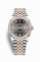 Replique Montre Rolex Datejust 36 Everose Roles 18 ct Everose 126281RBR