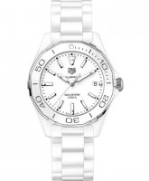 TAG Heuer Aquaracer Quartz Blanc Ceramique Dames WAY1391.BH0717