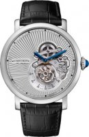 Rotonde de Cartier Flying Tourbillon reversed dial Replique Montre