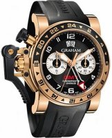Graham Chronofighter Oversize GMT Noir Gold Homme 2OVGR.B21A.K10B