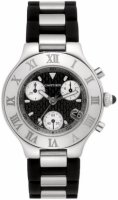 Cartier Must 21 Chronographe Homme Replique Montre W10125U2
