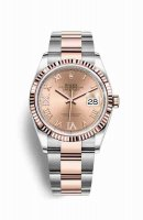 Replique Montre Rolex Datejust 36 Everose Roles 18 ct Everose 126231