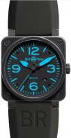 Bell & Ross Aviation 42MM BR 03-92 Bleu Carbon