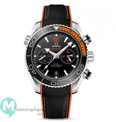 Omega Seamaster Planet Ocean 600M Chronometre Chronographe Orange 215.32.46.51.01.001