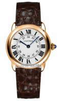 Cartier Ronde Solo Cuarzo 29mm Femme Replique Montre W6701007