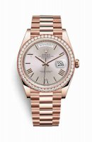 Replique Montre Rolex Day-Date 40 Everose 18 ct 228345RBR