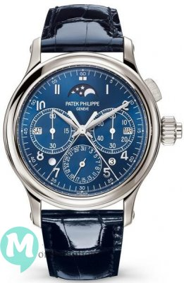 Patek Philippe Grand Complications 5372P-001 Perpetual Calendar Split-Seconds Chronographe
