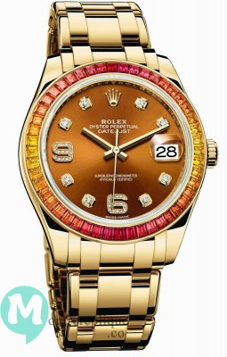 Rolex Oyster Perpetual Datejust Pearlmaster 39 86348 SAJOR-42748