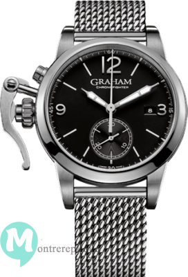 Graham Chronofighter 1695 Acier Homme 2CXAS.B02A.A24F