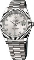 Rolex Day-Date II 218239 or blanc