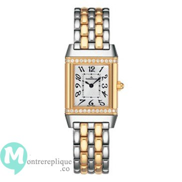 Jaeger-LeCoultre Reverso Cadran argente 18kt Gold and Steel Dames Q2655130