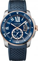 Calibre de Cartier plongeur blue Replique Montre W2CA0009