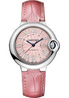 Ballon Bleu de Cartier 33mm Cadran rose Automatique WSBB0002