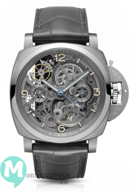 Panerai Luminor 1950 Tourbillon GMT Titanio Lo Scienziato PAM00578