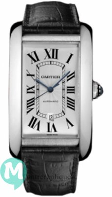 Cartier Tank Americaine Homme Replique Montre W2609956