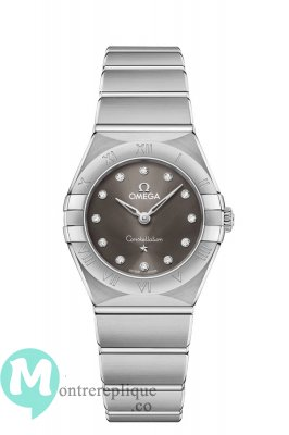 Copie Montre OMEGA Constellation Acier diamants 131.10.25.60.56.001