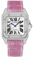 Cartier Santos 100 Femme Replique Montre WM501751